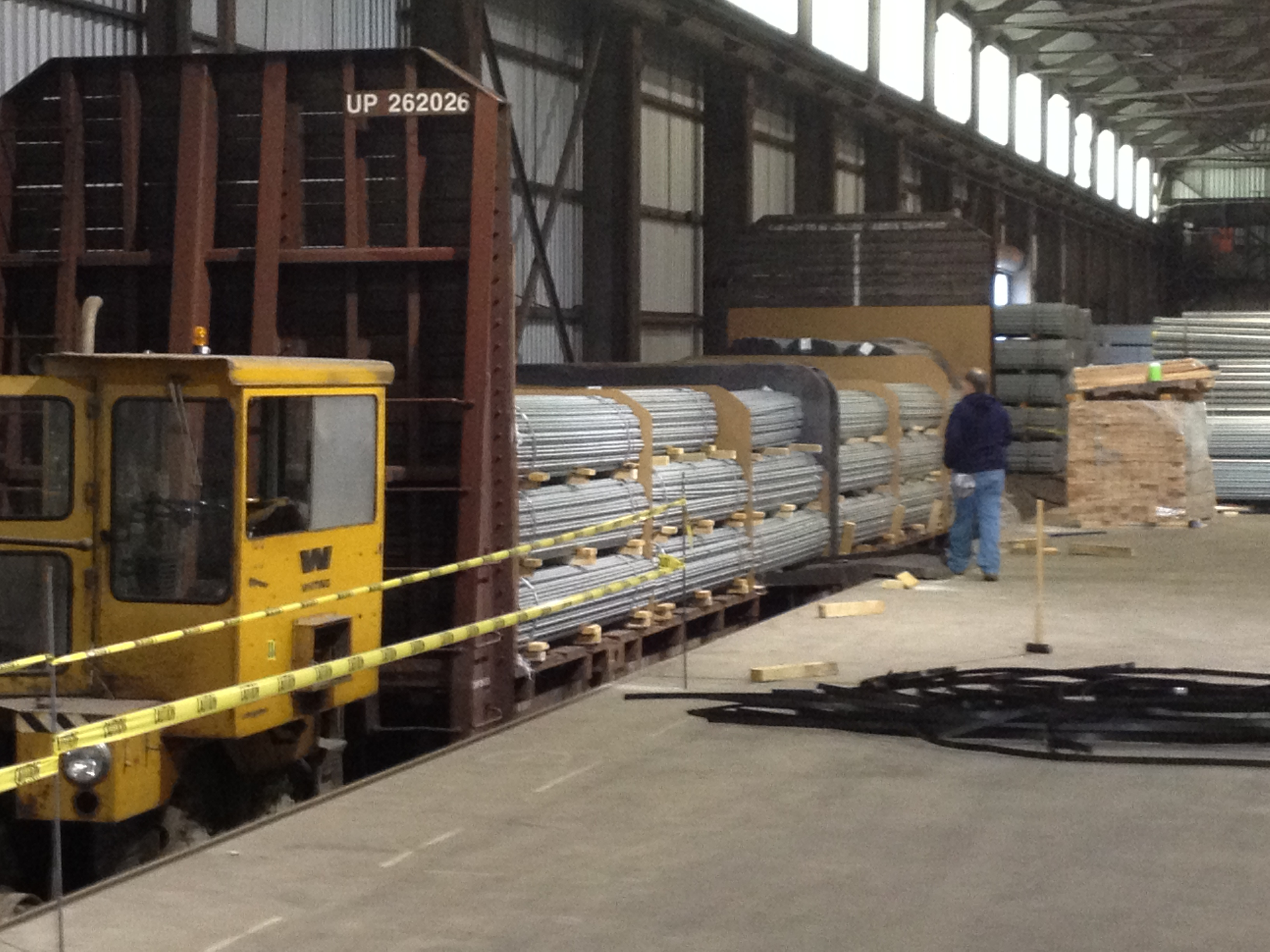 Rail Services And Reloading Indianapolis Warehouse Space