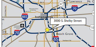 South Indianapolis Map